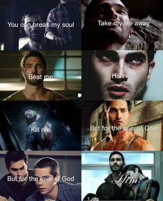 Characters Derek Hale and Paige Show Teen wolf Song Halo If anyone has any recommendations for people or music they would like me to make leave them in the c. Teen Wolf Songs, Teen Wolf Quotes, Teen Wolf Funny, Teen Wolf Derek, Teen Wolf Dylan, Teen Wolf Stiles, Sterek Fanfiction, Sterek Fanart, Derek Hale