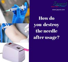Single use #needles are good for #health. Destroy the used needles with #jaycot #Nebulizer that burns the complete needle with less span.  Buy online @ http://jaycot.com/health-care