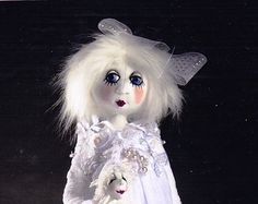 PATTERN - Snowdrop & Frosty - sweet character cloth doll PATTERN - Jill Maas
