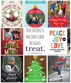 Check out some of @liblifeandstyle's favorite holiday card designs.