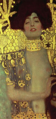 Some speculated that Gustav Klimt's Judith was actually Adele Bloch-Bauer, the married model of his famous gold portrait