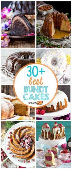 30+ Best Bundt Cakes plus top tips for baking your best bundt ever! {Bunsen Burner Bakery} #bundtcake #bakingtips via @bnsnbrnrbakery