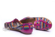 Zapato caribe. Elaborado a mano con auténtica piel por artesanos mexicanos. Visita el sitio para más información.
