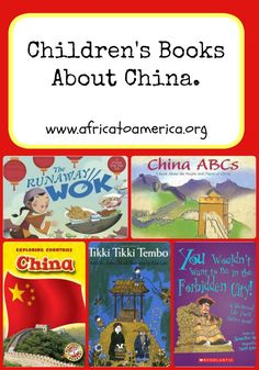Books About China - a list of folktales and information children's books to help your child learn.