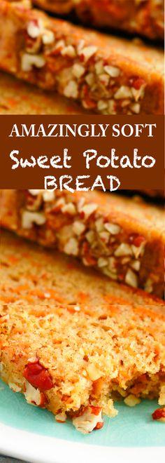 sweet potato recipes | quick bread recipe | easy bread recipes | brunch recipes |