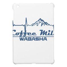 Coffee Mill Ski Area  -  Wabasha - Minnesota Case For The iPad Mini - coffee custom unique special