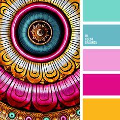 anaranjado, celeste, celeste pálido, dorado cálido, elección del color, esmeralda, frambuesa, matices de color rosado, rosado claro, rosado vivo, selección de colores para el hogar.