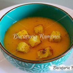 Fursecuri cu nuca de cocos si nutella, reteta Ramonei Dascalu Cheeseburger Chowder, Thai Red Curry, Nutella, Soup, Ethnic Recipes, Soups