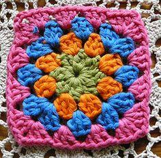 crochet square easy