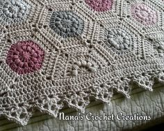 persian tile crochet pattern - Google Search