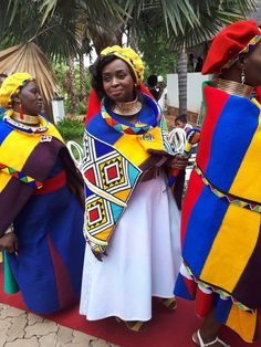 Ndebele Wedding #crafts #art #beadwork #africanfashion #africansweetheartweddings #traditionalafricanfashion