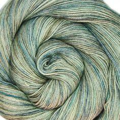 50/50 sw merino silk yarn EURYDICE hand dyed by lanitiumexmachina