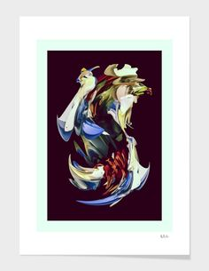 """""""Adapt"""", Numbered Edition Fine Art Print by Nicolas Monin-Baroille - From $25.00 - Curioos"""