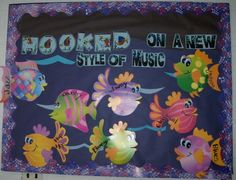 Bulletin Boards for the Music Classroom - Hooked on a New Style of Music
