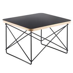 Eames LTR Occasional pöytä, musta