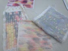 Johanna de Ru: #textiles #fibers #tissus #surfaces #materials