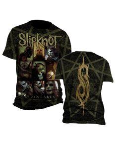 Slipknot Sickness Mens T-Shirt - Guaranteed Authentic.  Fast Shipping.