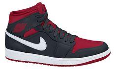 847b38fff6058e Air Jordan I 1 Retro Mid Black Gym Red Tênis Air Jordan