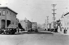 San Francisco1930S | Anza st at 22nd Ave looking west, c. 1930s.