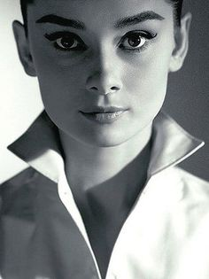Audrey Hepburn High brows