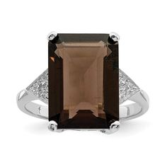 Pin it for later. Find out more chocolate diamond engagement rings. 925 Sterling Silver Smoky Quartz Diamond Band Ring Stone Gemstone Fine Jewelry For Women Gift Set Colored Engagement Rings, Gemstone Engagement Rings, Vintage Engagement Rings, Diamond Stone, Diamond Bands, Jewelry Gifts, Fine Jewelry, Gift Sets For Women, Quartz Stone