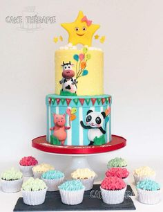Cake for 2nd birthday. by Caketherapie