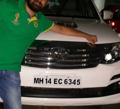 Automobile Licence plate with two number 4s in it #Ford #Fortuner #FordFortuner