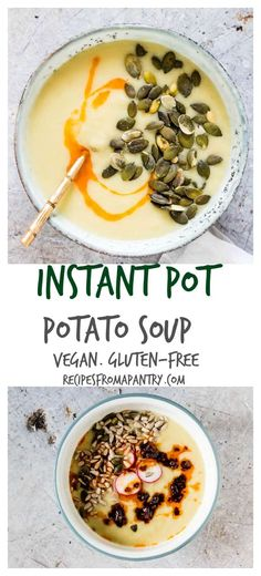 Tadka dal one pot lentil soup recipe pinterest dal recipe instant pot potato soup is a quick easy and delicious instant pot soup that can be made in just a few simple steps it is a gluten free soup and vegan forumfinder Image collections