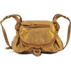 Jérôme Dreyfuss Twee Mini flap bag (£215) ❤ liked on Polyvore featuring bags, handbags, shoulder bags, gold, jérôme dreyfuss, jerome dreyfuss handbags, metallic handbags, flap purse and metallic shoulder bag