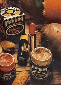 "Mary Quant ""Special Recipe"" Cosmetics, c. 1972 I've still got my pot! And it's still perfect."
