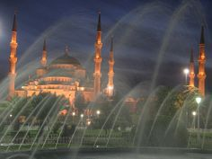 The best night shot of the blue mosque that I've seen. Shot by Patrick Mayon