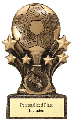 Ball Stars Soccer Trophy   | K2 Trophies and Awards