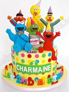 Celebrate with Cake!: Medley of Characters, Sesame Street theme