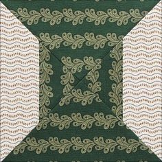 civil war reproduction quilt block