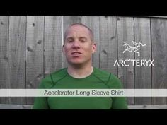 Sven checks out a lightweight, breathable, moisture wicking tech long-sleeve from Arc'Teryx. Long Sleeve Shirts, Mens Tops