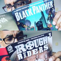 Had to support these two amazingly talented creative teams! | #blackpanther #marvel #aftershockcomix #RoughRiders by smartinbrough
