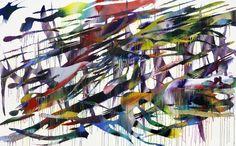 Katharina Grosse A Table, Paint Colors, Abstract Art, Art Pieces, Sculptures, Miniatures, Illustration, Artist, Netherlands