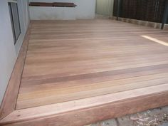 Blackbutt is an Eastern States Hardwood, highly prized for it's strength, durability and pale brown colour. Patio Flooring, Timber Flooring, Hardwood Floors, Timber Deck, Timber Wood, Merbau Decking, Spotted Gum Flooring, Decks Around Pools, Deck Finishes