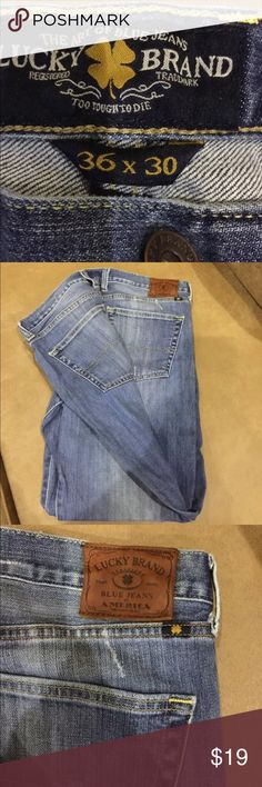 Lucky Brand Jeans-Vi gave straight See photos for details. 36x30 Lucky Brand Jeans