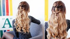 Cute & Easy Holiday Hairstyle | Luxy Hair