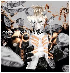 Genos (One Punch Man) Image - Zerochan Anime Image Board Anime Guys, Manga Anime, Saitama One Punch Man, Anime City, Man Character, Man Images, Kawaii Anime, Hero, Fan Art