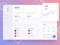 Desktop version of the stock app concept I did few days ago.  -------------  Interested to work with us? Shoot your business inquiry to ghani@paperpillar.com