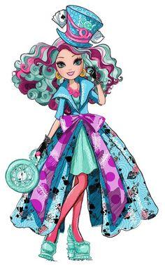 Meredith Hatter- Way Too Wonderland- Ever after High Ever After High, Personajes Monster High, Fashion Art, High Fashion, Arte Do Kawaii, Chica Cool, Raven Queen, Rebel, Dc Super Hero Girls