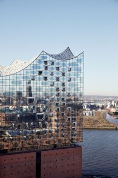 Elbphilharmonie concert hall by Herzog & de Meuron in Hamburg, Germany