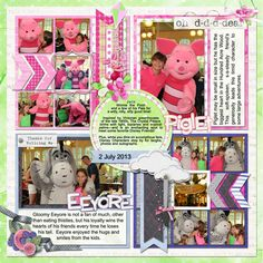 Cindy Schneider -Single 40: Lots of Snapshots 14 (Doubled/one flipped) Natalie's Place Designs - Braver Mini Kit, Take Note, One Hundred Acres