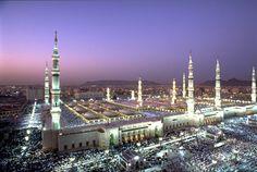 Al Masjid al-Nabawi (The Prophet's Mosque) ~ al-Madinah, Saudi Arabia....