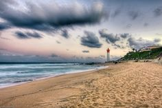 One of KZN's most popular beaches for locals and holiday-makers alike, the warm Indian Ocean draws millions the world over to Umhlanga's gorgeous golden sands. West Africa, South Africa, North South East West, All About Africa, Kwazulu Natal, Beautiful Places To Visit, Beach Trip, Scenery, African