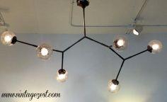 Molecular light fixture