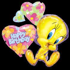 tweety bird pictures | Tweety Bird Super Shape Mylar Balloon XL Brand New Free Shipping ...