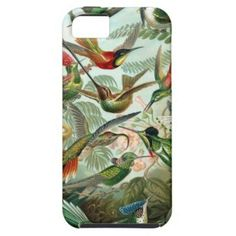SOLD! Haeckel Hummingbirds iPhone 5 Case